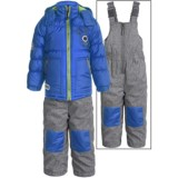 Rugged Bear Winter Jacket and Bibs Set - Insulated, 2-Piece (For Toddlers)
