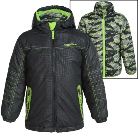 Rugged Bear Systems Winter Jacket - Insulated, 3-in-1 (For Little Boys)