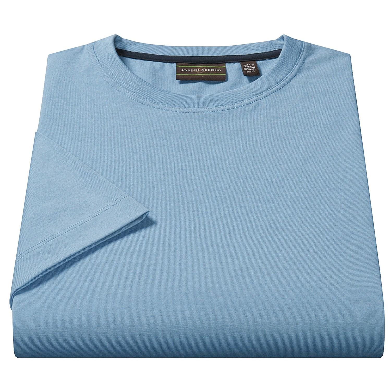 Joseph abboud peruvian pima cotton t shirt for men 1371n for Peruvian cotton t shirts
