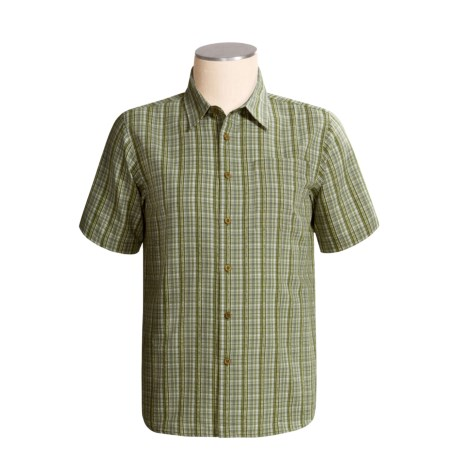 Royal Robbins Jasper Seersucker Plaid Shirt - Organic Cotton, Short Sleeve (For Men)