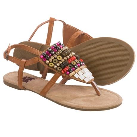 Muk Luks Harlow Beaded Sandals (For Women)