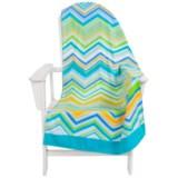 "Dohler USA Printed Beach Towel - Cotton Velour, 30x60"""