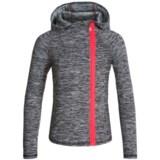 Kyodan Asymmetrical Zip Hooded Jacket (For Big Girls)