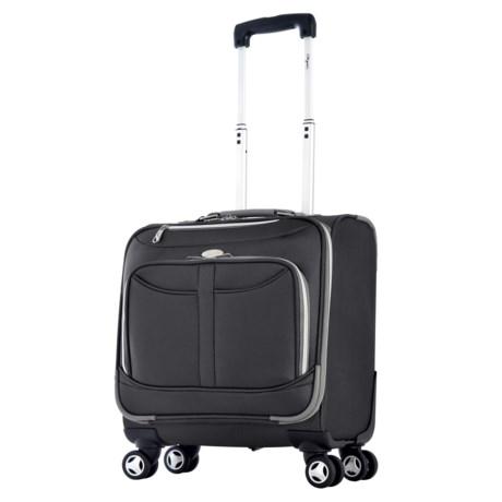 "Olympia Tuscany Overnight Spinner Suitcase - 17"""