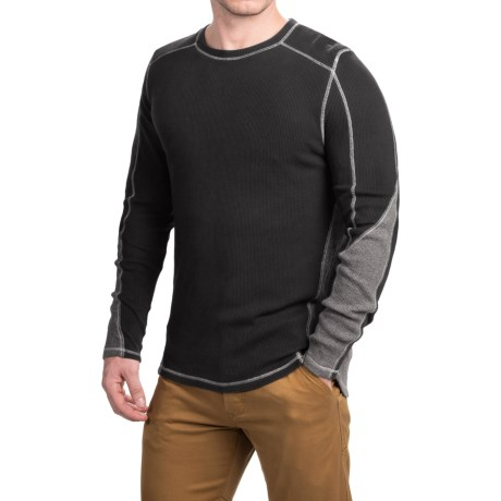 Gramicci Tyler Color-Block Thermal Shirt - Crew Neck, Long Sleeve (For Men)