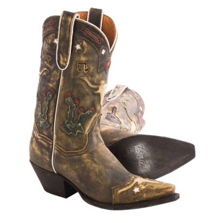 """Dan Post Cowboy Dreams Boots - 11"""", Snip Toe (For Women)"""