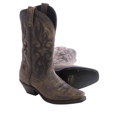 "Laredo Maricopa Cowboy Boots - 11"", Square Toe (For Women)"