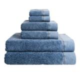 Members Only Stonewashed Turkish Cotton Towel Set - 6-Piece