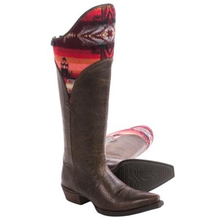 """Ariat Caldera Cowboy Boots - 17"""", Snip Toe (For Women)"""