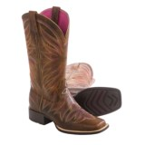 """Ariat Brilliance Cowboy Boots - 12"""", Square Toe (For Women)"""