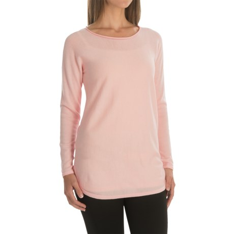 Max Studio Merino Wool Sweater - Scoop Neck (For Women)