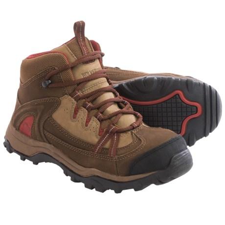 Wolverine Maggie Mid Work Boots - Steel Toe, Nubuck (For Women)