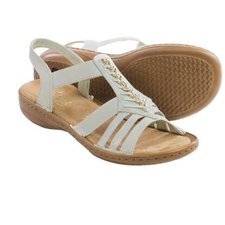 Rieker Regina 11 Sandals - Vegan Leather (For Women)