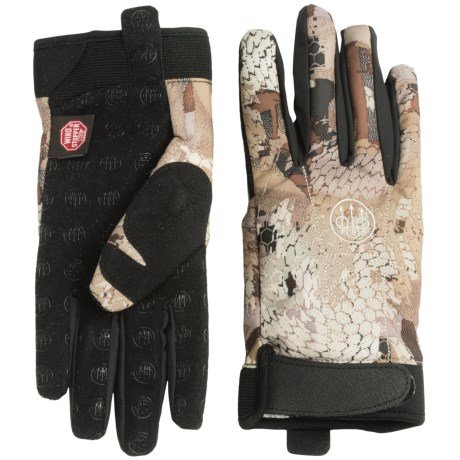 Beretta Xtreme Ducker Windstopper® Soft Shell Gloves (For Men)
