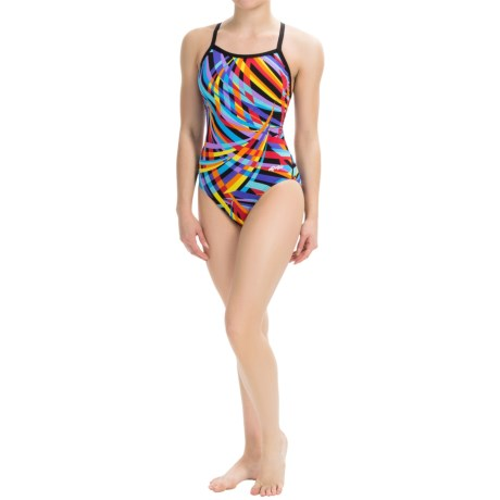 Dolfin Alpha Competition Swimsuit - Chloroban®, UPF 50+ (For Women)