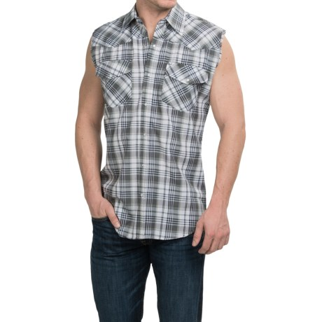 Canyon Guide Outfitters Kick Back Shirt - Snap Front, Sleeveless (For Men)