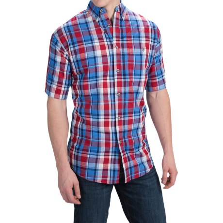 Canyon Guide Outfitters Yardley Plaid Shirt - Short Sleeve (For Men)
