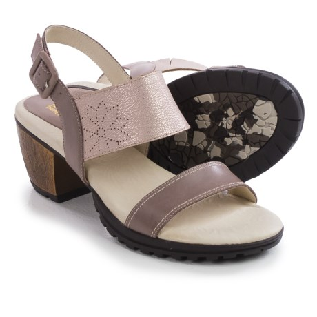 Jambu Sunstone Leather Sandals (For Women)