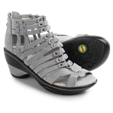 Jambu Sugar Wedge Sandals - Nubuck (For Women)