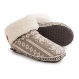 Muk Luks Faux-Fur Cuff Boot Slippers (For Women)