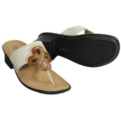 Josef Seibel Mel Sandals - Leather Thongs (For Women)