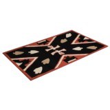 "Chandler 4 Corners Hooked Wool Rug - 32x52"", Rectangular"