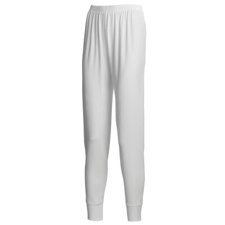 Wickers Long Underwear Bottoms - Midweight Nylon (For Women)