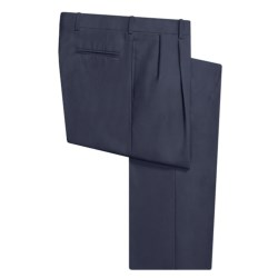 Corbin Wool Dress Pants - Pleated (For Men)