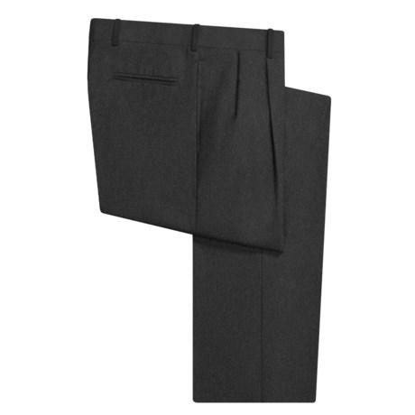 Corbin Wool Dress Pants - Pleated (For Men)