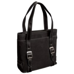 Ellington Leather Goods Hepburn Tote Bag - Suede