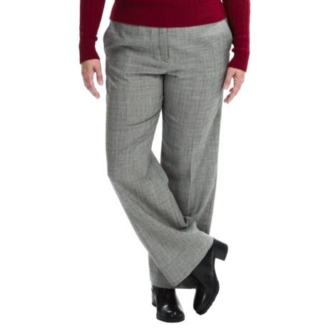 Pendleton Wool Chic Street Pants (For Plus Size Women)