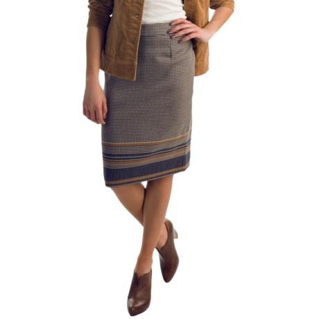 Pendleton Border Wool Pencil Skirt (For Women)