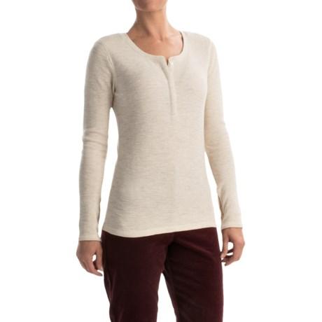 Pendleton Hannah Thermal Henley Shirt - Long Sleeve (For Women)