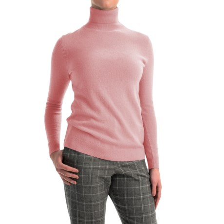 Pendleton Creme De Cashmere Turtleneck Sweater (For Women)