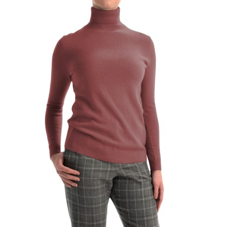 Pendleton Creme De Cashmere Turtleneck Sweater (For Women)