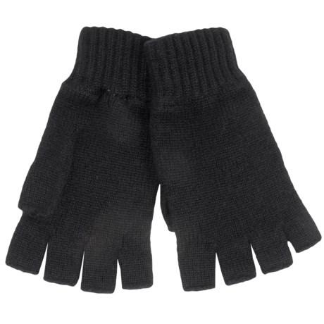 Johnstons of Elgin Cashmere Fingerless Gloves (For Women)