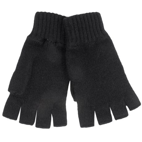 Johnstons of Elgin Cashmere Fingerless Gloves (For Women)