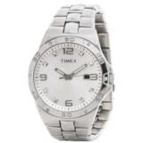 Elevated by Timex Stainless Steel Watch - Swarovski® Crystals (For Men)