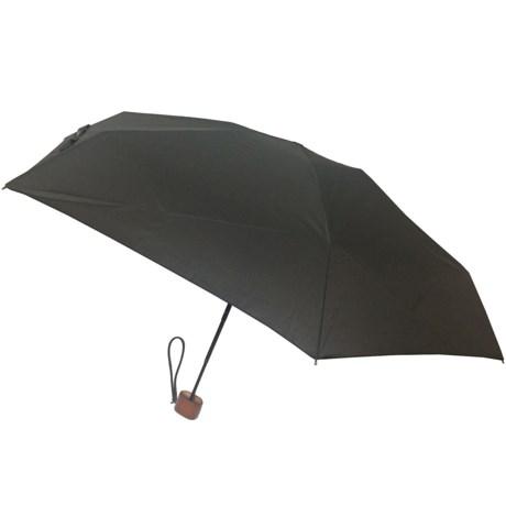 London Fog Ultra Mini Manual Umbrella - Wood Handle