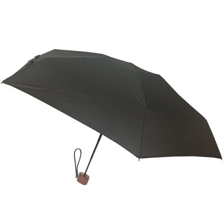 London Fog Ultra Mini Manual Umbrella - Wood Handle