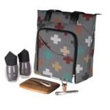Picnic Time Sonoma Wine and Cheese Picnic Tote Bag