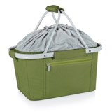Picnic Time Metro Collapsible Tote Basket - Insulated