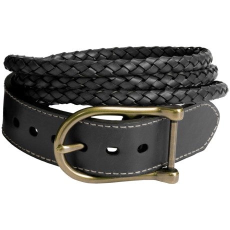 Ariat Triple-Braid Belt - Leather (For Women)