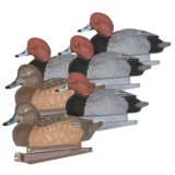 Banded Redhead Floating Duck Decoys - 6-Pack