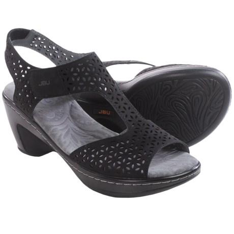 Jambu JBU Chloe Wedge Sandals - Vegan Leather (For Women)
