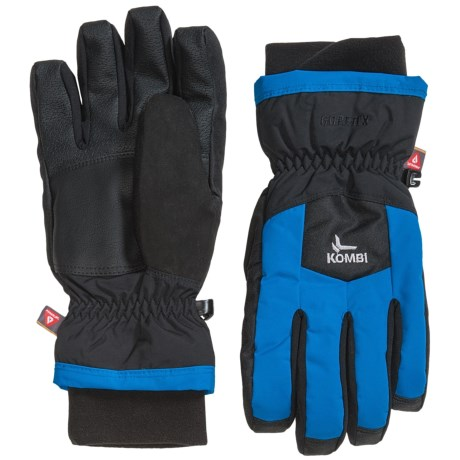 Kombi Omni Gore-Tex® Gloves - Waterproof, Insulated, Touchscreen Compatible (For Men)