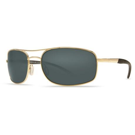 Costa Seven Mile Sunglasses - Polarized 580P Lenses