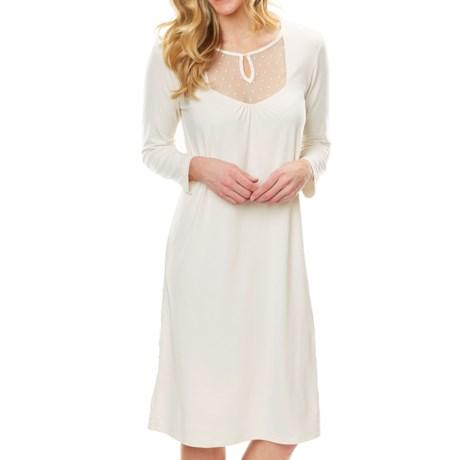Paddi Murphy Softies Dottie Nightgown - Long Sleeve (For Women)