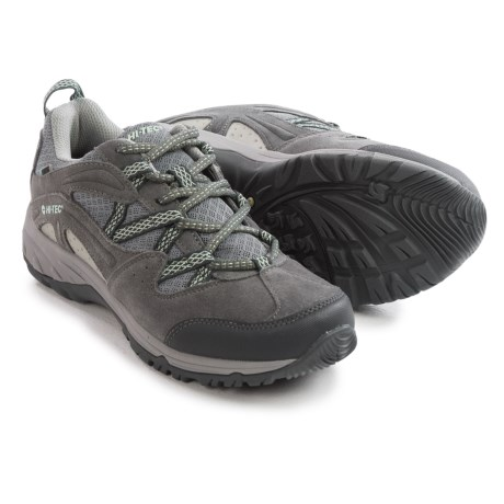 Hi-Tec Celcius Hiking Shoes - Waterproof, Suede (For Women)