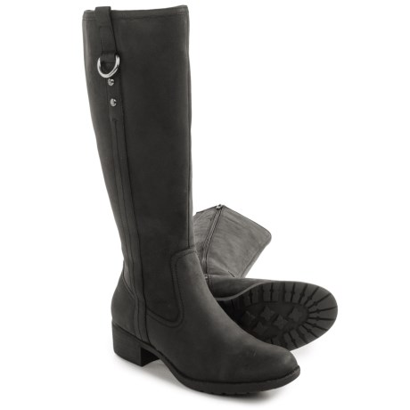Hush Puppies Emel Overton Leather Boots - Waterproof, Insulated (For Women)
